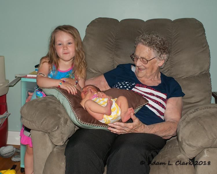 Great grandchildren #16 and #17