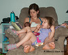 Pig pile on Mommy