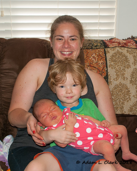 Aunt Dani and cousin Liam come to meet Madison