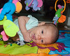 2018.08.24<br> Madison playing on her mat