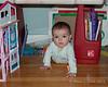 2019.02.12<br> Madison under Liliana's craft desk