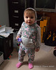 2020.01.19<br> Madison happy to have her hood up while playing in Daddy's office