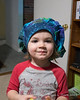 2021.01.26<br> Madison wearing her mother's newly made cap for work