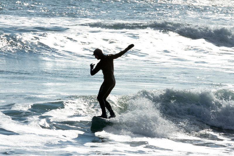 Winter Surfing, Biddeford Pool, Maine