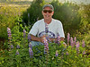 Larry at Needle Grass Creek
