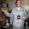 "This photo is of Major  Brant Clark in his office in Afghanistan<br /> Major Charles ""Brant"" Clark of Boulder served in Iraq and Afghanistan."
