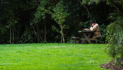 Man in Park