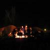 Bonfire drumcircle at the O-farm