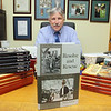 """Leominster City Councilor Mark Bodanza who has written three books has just finished his third book """"Resolve and Rescue."""" SENTINEL & ENTERPRISE/JOHN LOVE"""