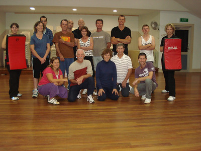 Martin Day's Self Defence Course Number 1 Sunshine Beach, Queensland, May 2010
