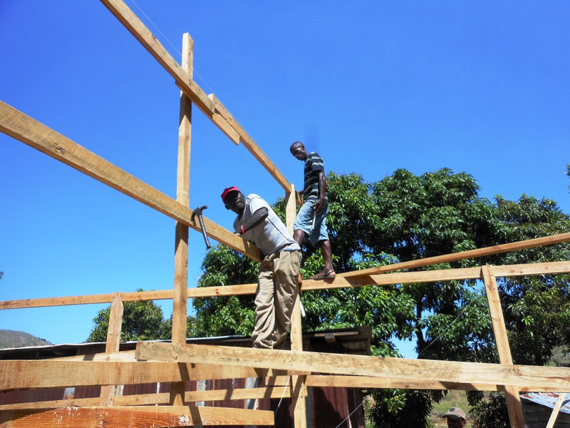 Construction continues on St. Andre' transitional church and school – Mithon