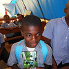 He likes his photo from 2011 Mission Trip – Mithon, St. Andre' School