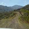 Traveling to village of Mithon and St. Andre' parish. No road, only riverbed and mountain track.