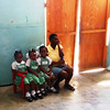 Triplets in kindergarten – Trinity School (Trinity Cathedral) – Port au Prince