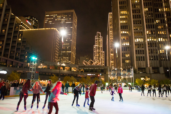 Matthes Family Ice Skating Party 2014
