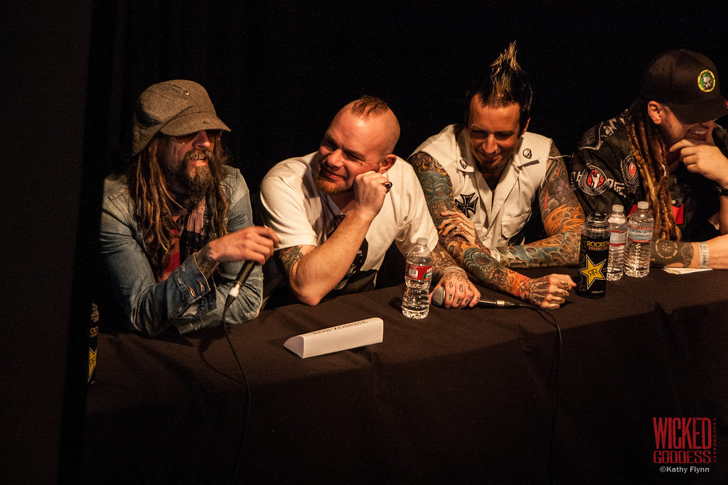 Press Conference with Rob Zombie and Five Finger Death Punch