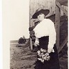 Unidentified Woman with Flowers  (O 2017 .51 . 10)
