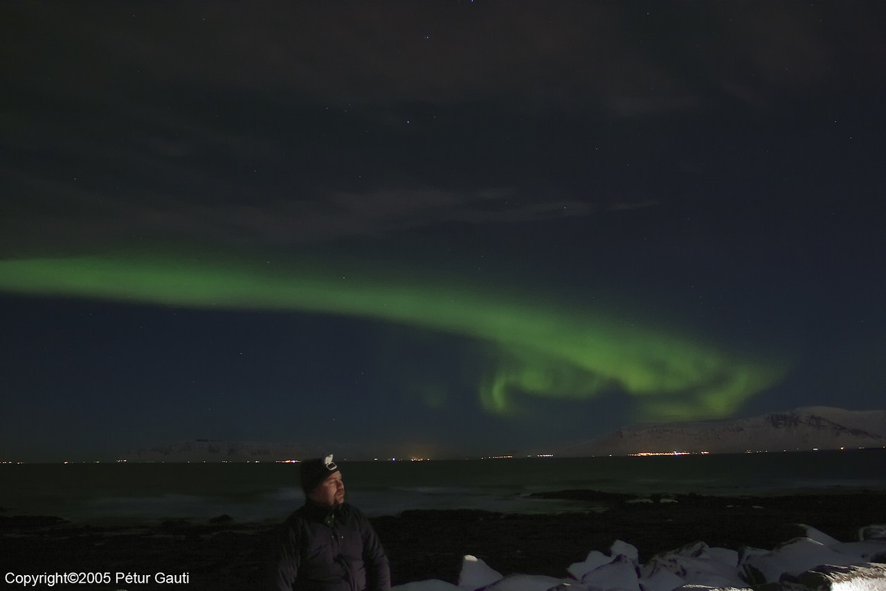 Selfportrait with Nothern lights (#2762)