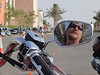 "Me, sitting on my bike, ready to take on the ""slow"" challenge at the 2nd Al Hajjar Rally in Sohar, Oman! (2010)"