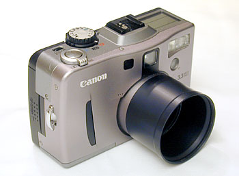 Digicam #1 - This was my first digicam, a Canon G1 with accessory Lensmate adapter that allows me to attach various lens such as UV, Macro, Polarizer & more.  3.1MP, 3x Optical Zoom. It was still working in the summer of 2006 but far too many hot & dead pixels to allow capturing imags to be enjoyable.  I have not used it since the purchase of my second camera.<br /> <br /> Acquired December 23, 2000.<br /> <br /> .