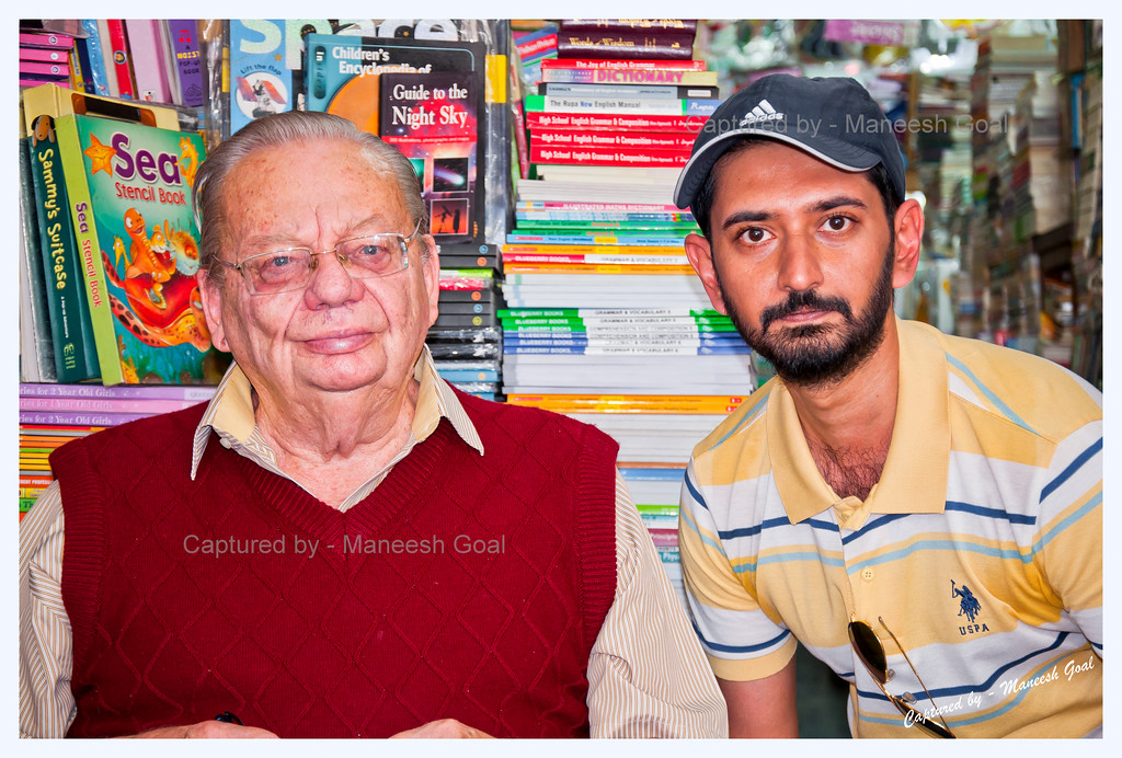Fan moment with Mr. Ruskin Bond