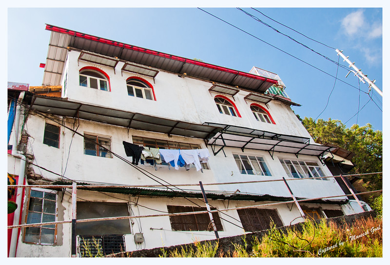 Ivy Cottage, Landour - where Mr. Ruskin Bond resides