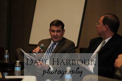 6-8-12, Charlotte, N.C. CEA Meeting. Justin Maierhofer (Left, VA), Eric Loewen (GE-Hitachi)