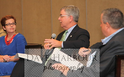 6-8-12, Charlotte, N.C. CEA Meeting.  Jennifer Diggins, Lewis Ebert (President, NC Chamber of Commerce), Michael Whatley,