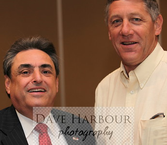 6-8-12, Charlotte, N.C. CEA Meeting. NC Senator Bob Rucho (L) with CEA Alaska Executive Director Steve Pratt.