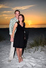 Megan & Shawn's 1st Anniversary! : Megan & Shawn celebrate their 1st anniversary in front of the Sandbar Restaurant where they were married December 28, 2007.  Congratulations!