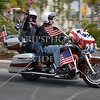 West Coast Thunder Bike riders roared on their harleys through the streets of Moreno Valley, California, to remember the fallen servicemen and women during the 2016 Memorial Day.
