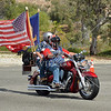 Biker passes through during the 2017 Memorial Day West Coast Thunder Bike Run in Moreno Valley, California.