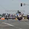 Bikers pass through during the 2017 Memorial Day West Coast Thunder Bike Run in Moreno Valley, California.
