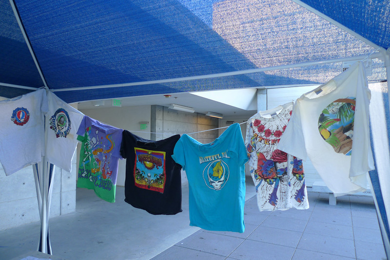 Some of Greg's Grateful Dead shirts