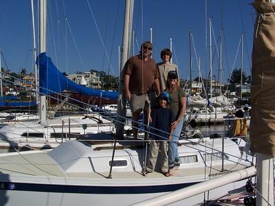 On Steve Brenner's Boat