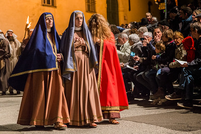 Die drei Marien: Maria Magdalena, Madonna, Maria Clopas
