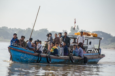 Boat on the Irrawaddy