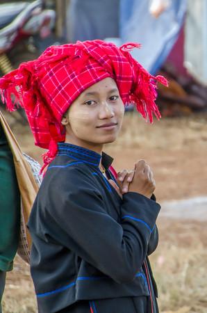 Woman in Taunggyi. Myanmar