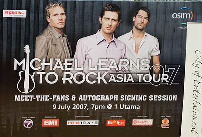 Michael Learns To Rock @ 1 Utama