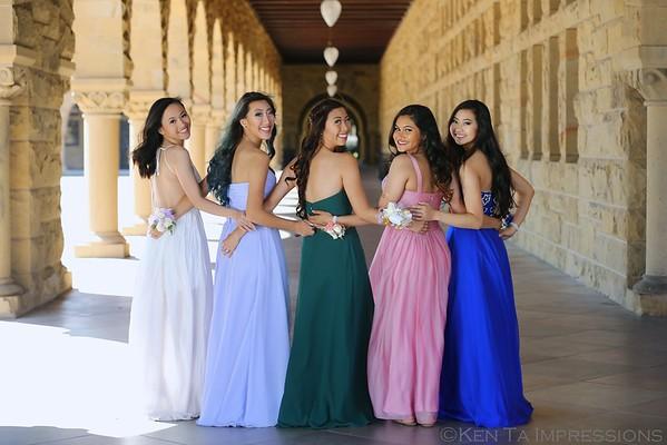 Michelle & Friends, Senior Prom 2015