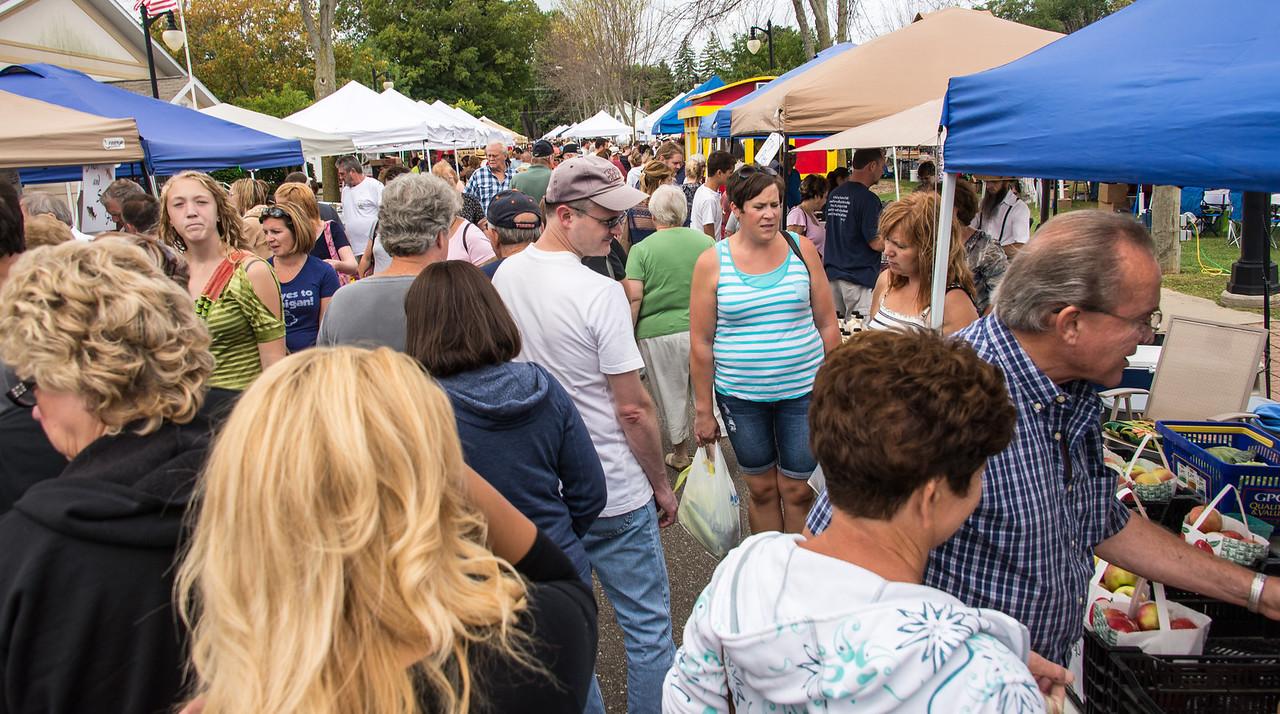Port Austin's Farmer's Market - September 2013