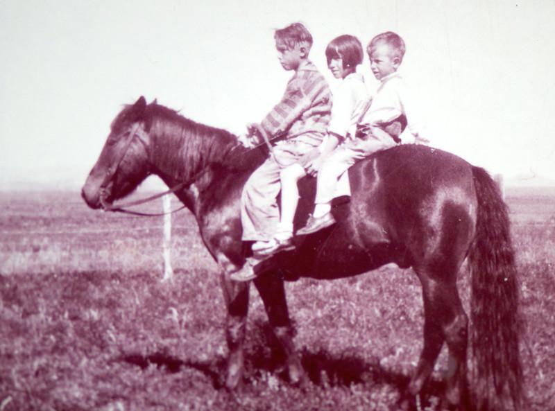 Guinn kids: Jack, Mickey, Carol