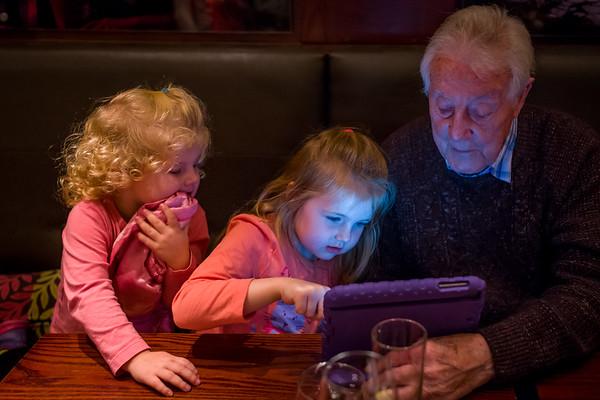 Kaylee, Zoe & Grandad