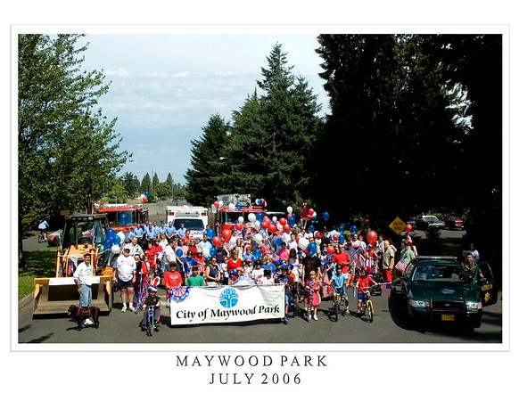 City of Maywood Park July 4th  2006