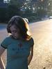 Girl in MASH 4077 T-Shirt