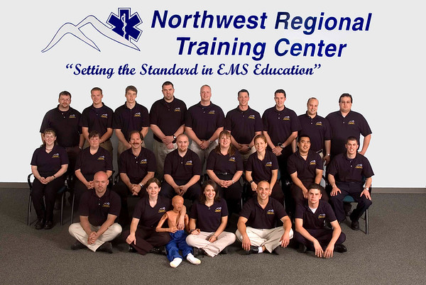 Group Shot NWRTC Vancouver WA EMT Trainees