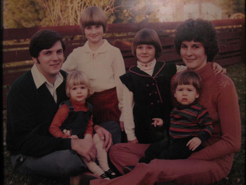 The Fraze family: Bob, Kristina, Kimberly, Kerry, Kevin, and Ann