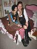"""Karra and Tina at """"Cheap Chic"""" <br /> 10-21-2006"""
