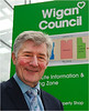 Police Commissioner Tony Lloyd at Wigan Life Centre 010213