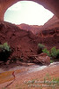 Model Released, Backpacker, Lobo (Jacob Hamblin) Arch, Coyote Gulch, Glen Canyon National Recreation Area, Utah